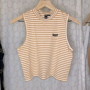 VOLCOM LOOKING OUT MOCK NECK TANK (NWT)